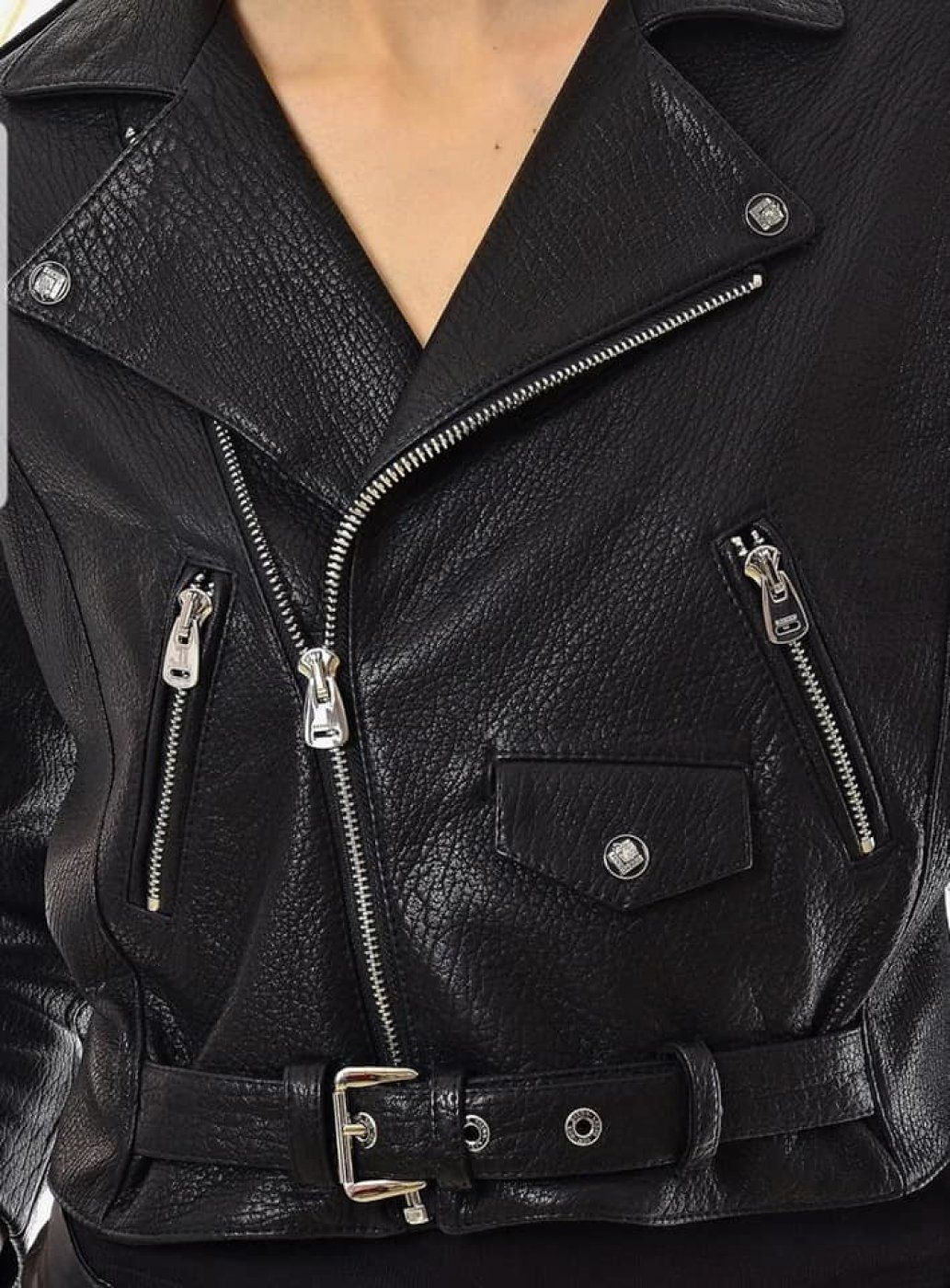 Leather Jacket Biker Jacket Size 36 Leather Jacket Jackets Biker Jacket