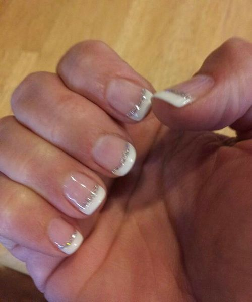 Gel Nail Ideas French | Nail Ideas | Pinterest | Gel nails french ...