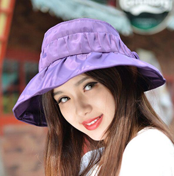 5c99562c8c1 Flower sun visor hat for women UV sun protection hats riding wear Sun Visor  Hat