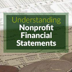 understanding nonprofit financial statements nonprofit information