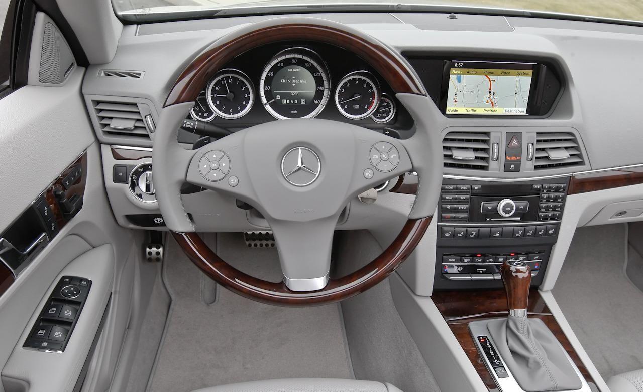 2014 Mercedes Benz E350 Coupe 2014 Mercedes Benz E350 Interior