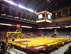 Williams Arena Wikipedia The Free Encyclopedia Minnesota Gophers University Of Minnesota Minnesota Golden Gophers