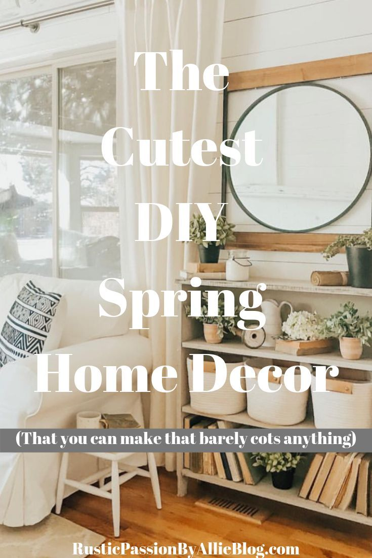20 of the BEST Home Decor Blogs that will inspire you.  Diy decor