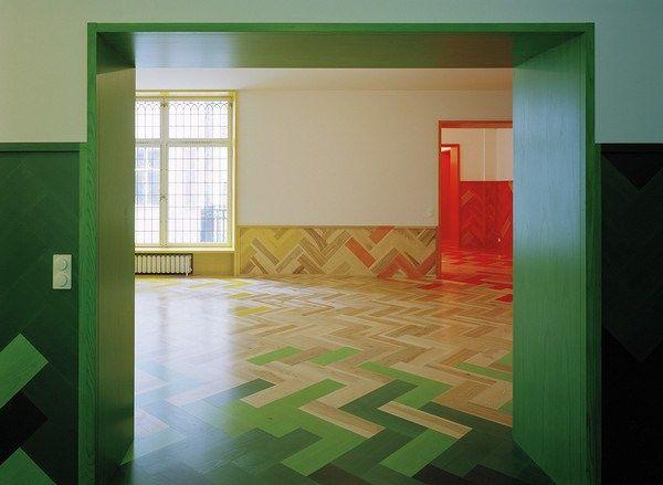 Humlegården apartment in Stockholm, Sweden by Architects: Tham & Videgård  (10.aeccafe)