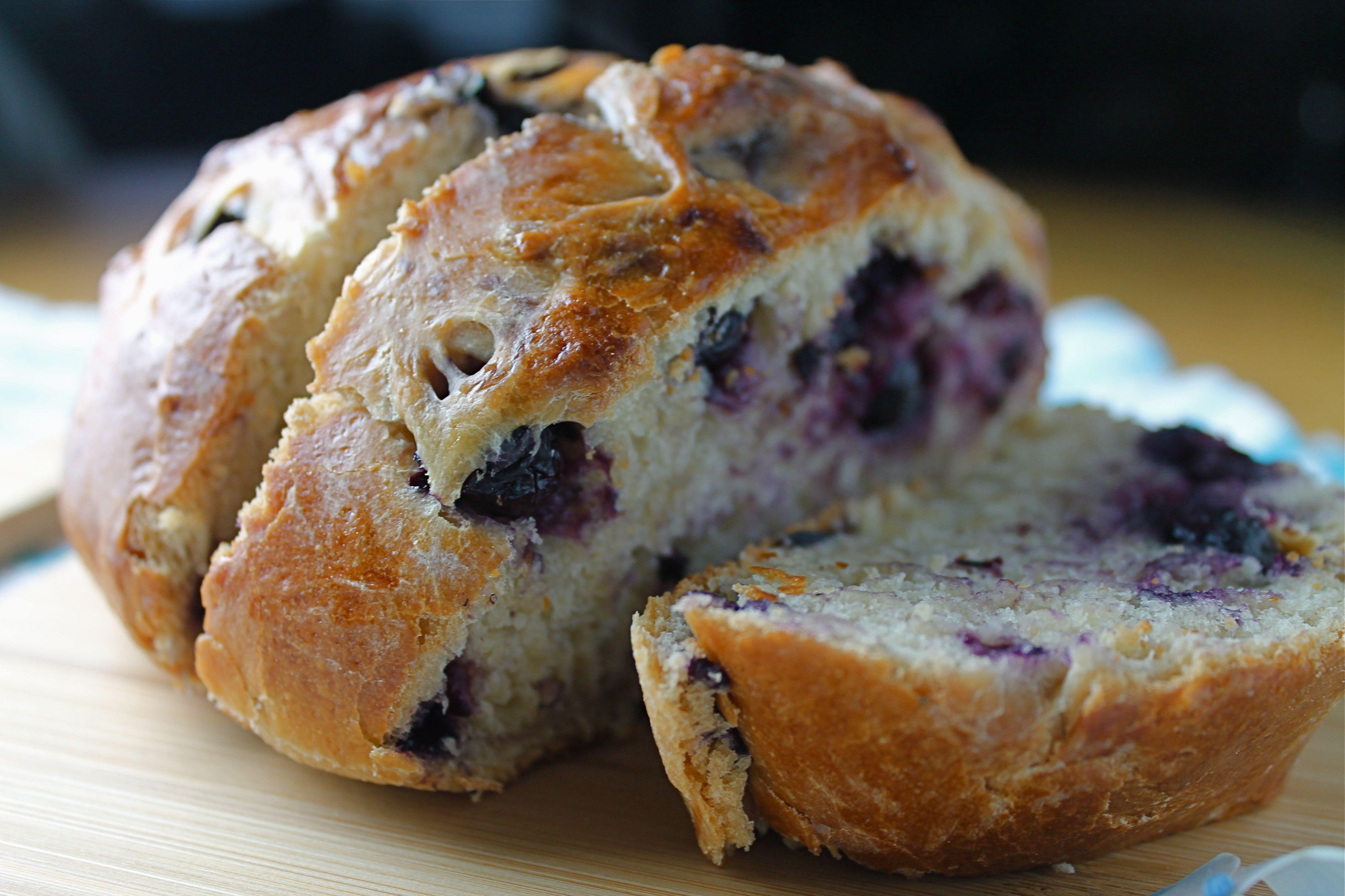 Blueberry Honey Bread