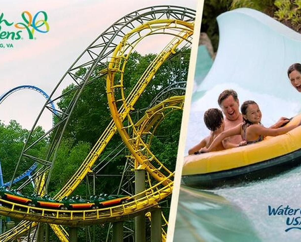 How Far Is Water Country Usa From Busch Gardens