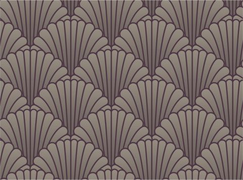 Art deco wallpaper seamless images for Art deco wall colours
