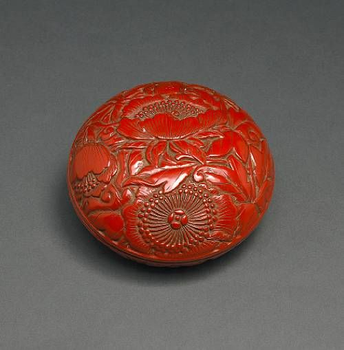 China - Lacquered Wood Box - 1600