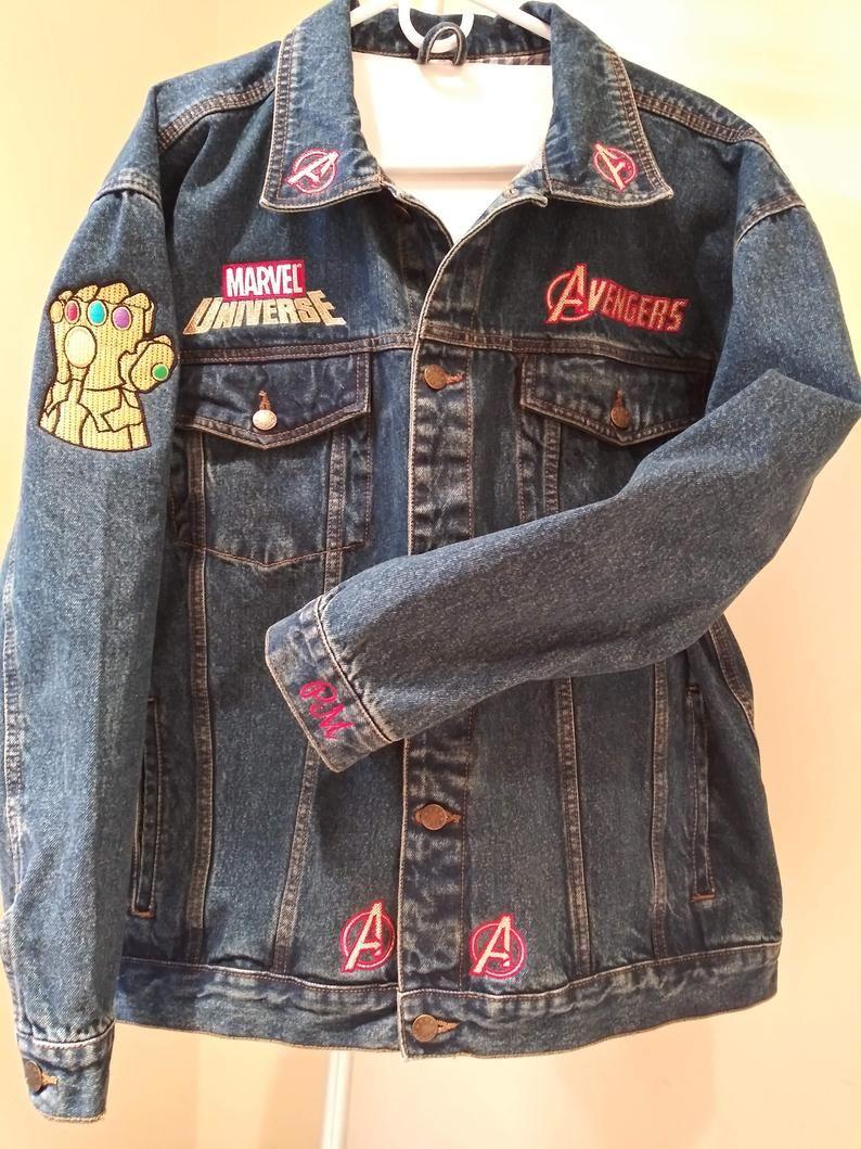 Marvel Universe Avengers Agents Of S H I E L D Superhero Jean Jacket Marvel Clothes Avengers Outfits Marvel Fashion [ 1059 x 794 Pixel ]