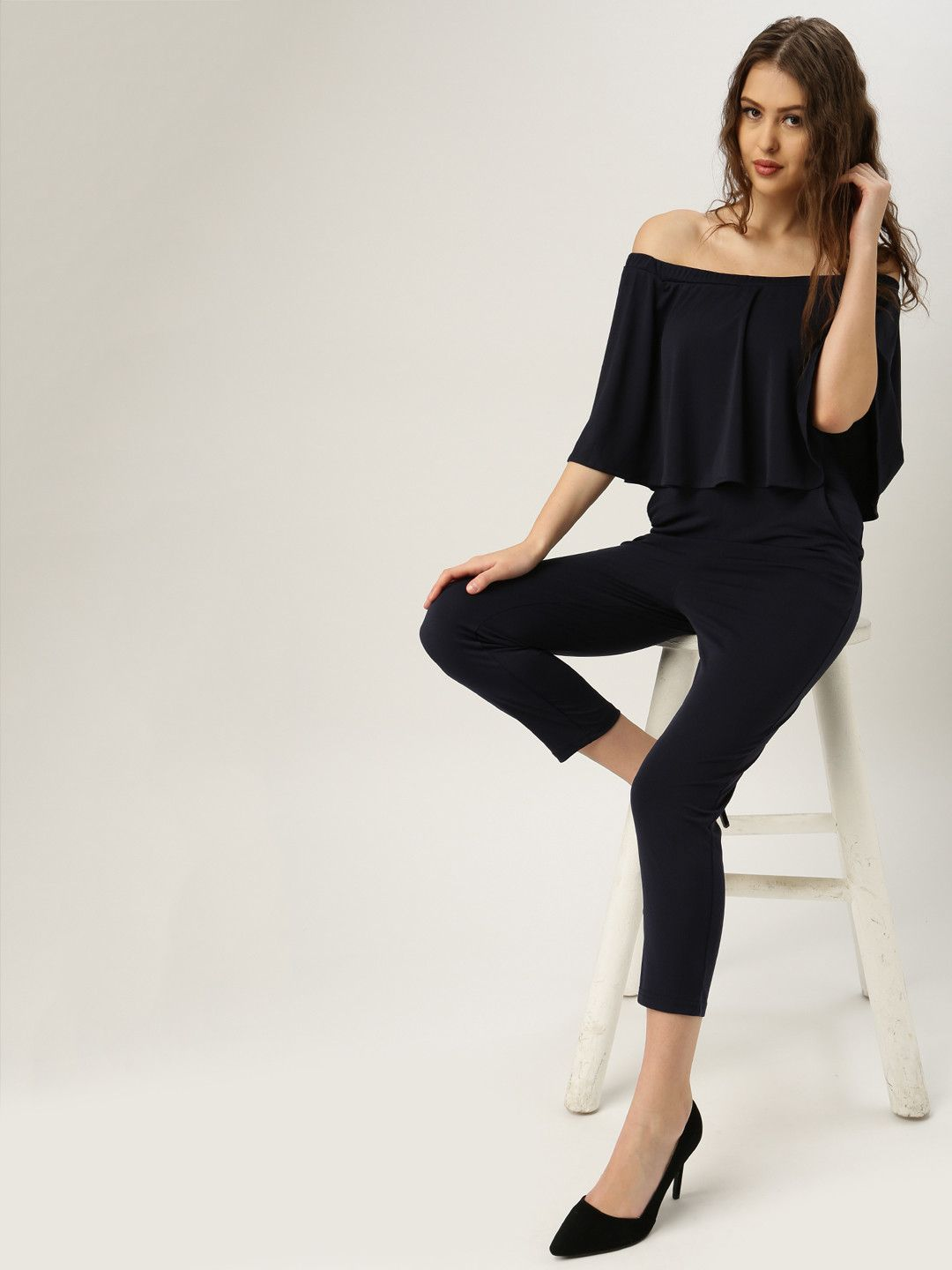 All About You From Deepika Padukone Navy Off Shoulder ...