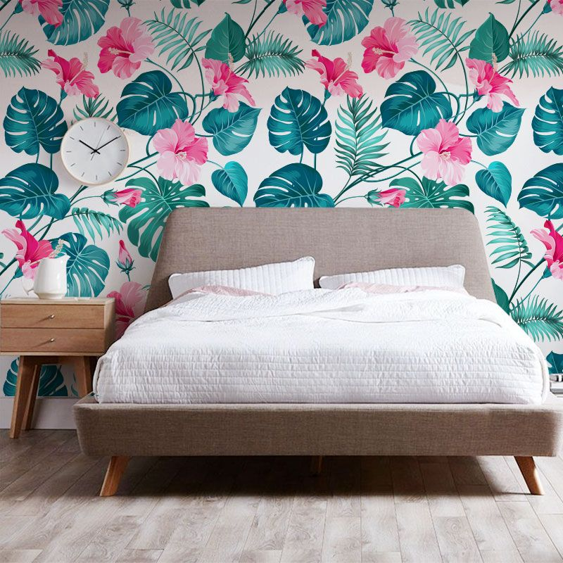 Paredes Con Papel Tapiz Floreado Wallpaper Match Paper Interior
