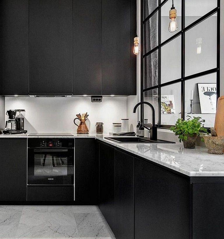 Kitchen Renovation Trends 2015 27 Ideas To Inspire: 30+ Marvelous Modern Black Kitchen Cabinets Design Ideas