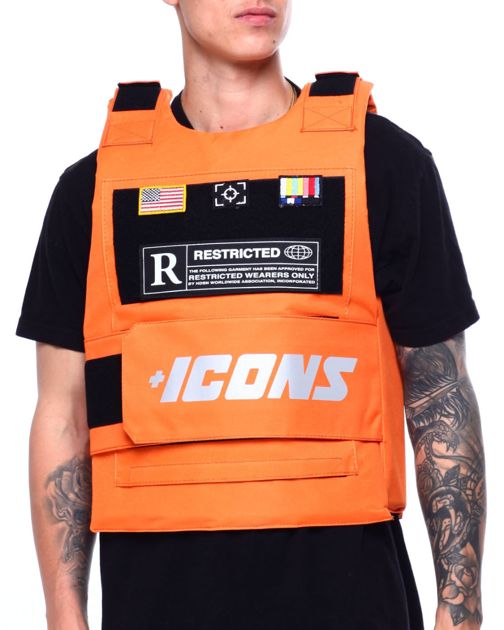 Buy Icon Reflective Vest Men's Outerwear from Hudson NYC