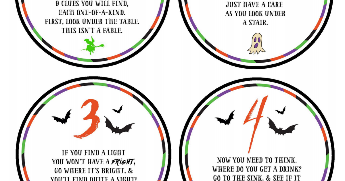 Halloween Scavenger Hunt Printables.pdf Google Drive