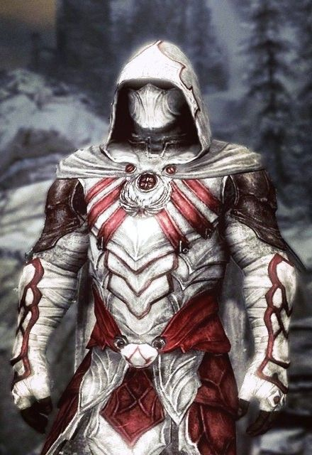 I Am Assuming That This Is A Mod For Nightengale Armor In Skyrim