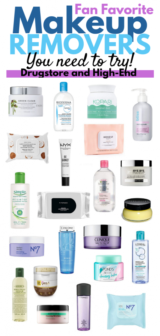 Testing the most popular makeup removing products
