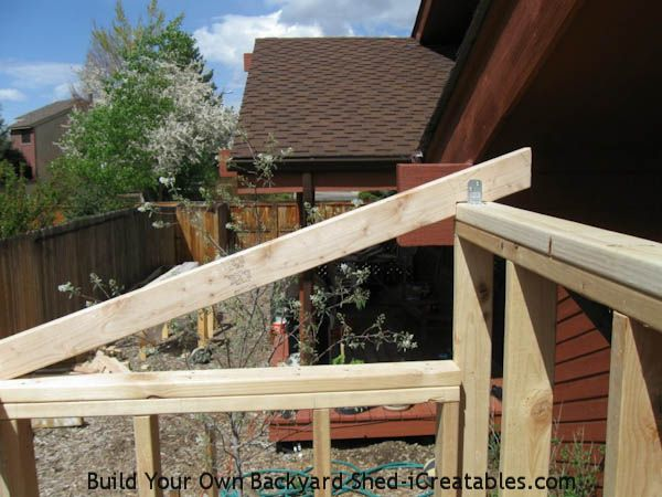 Lean to shed plans easy to build diy shed designs diy for Lean to house designs