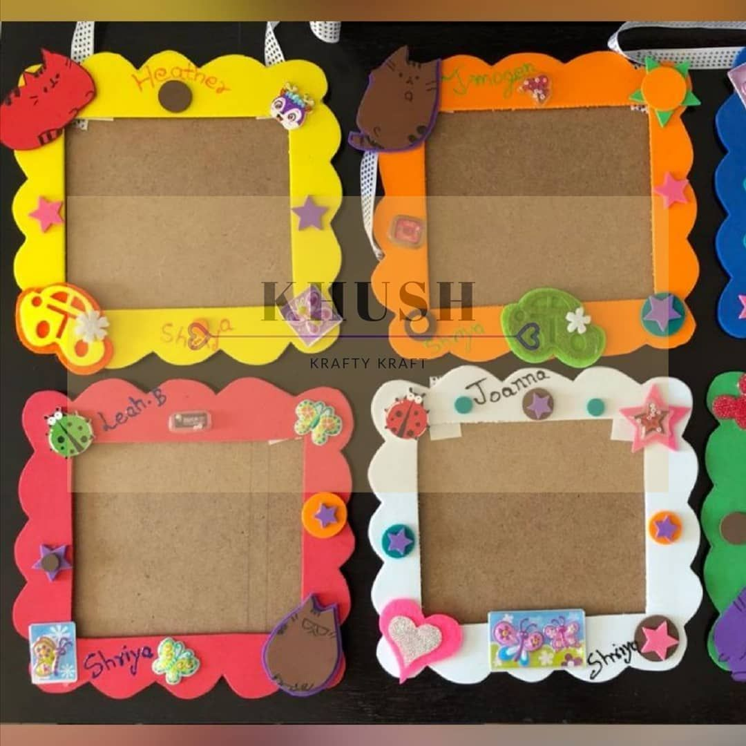 Return Gifts Made For Kid Birthday Party Hanging Photo Frame