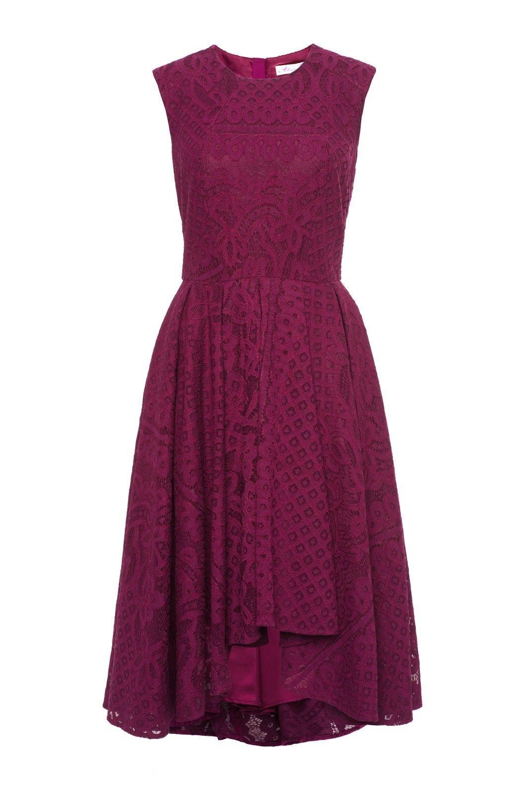 Alannah hill black strapless dress