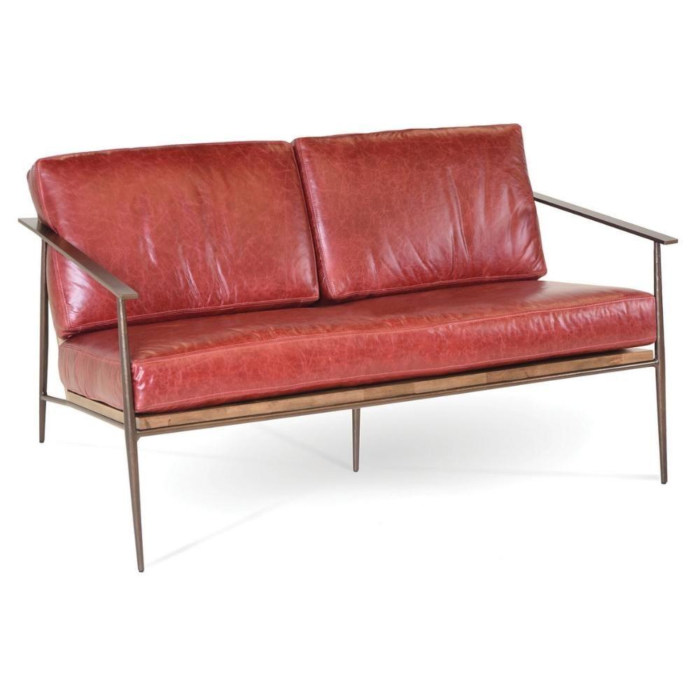 Emmitt lounge chair settee charleston midcentury