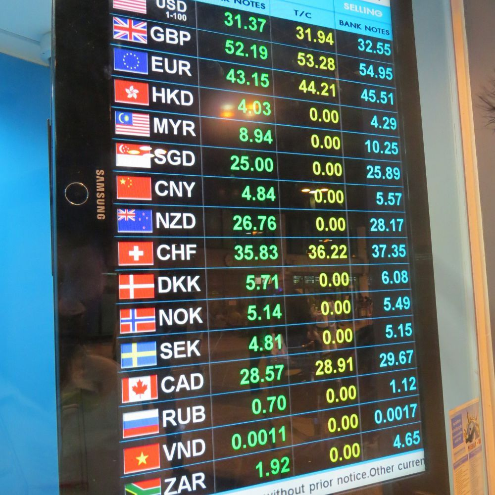 How to make money from exchange rates