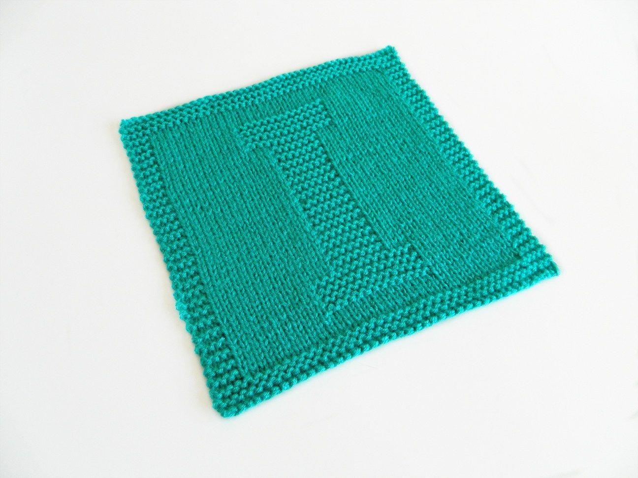 ALPHABET DISHCLOTH: I   Knitting blogs, Knitting patterns ...