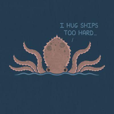 Monster Issues - Kraken Art Print