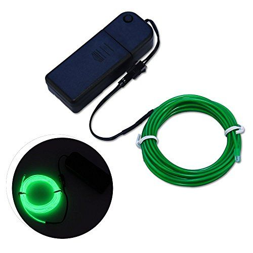 awesome Tonor TM 9ft Neon Glowing Strobing Electroluminescent Wire ...