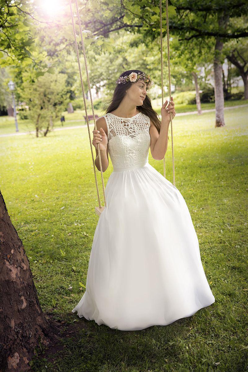 Brautmode #Kleemeier #Bridal Valérie verzaubert und inspiriert ...