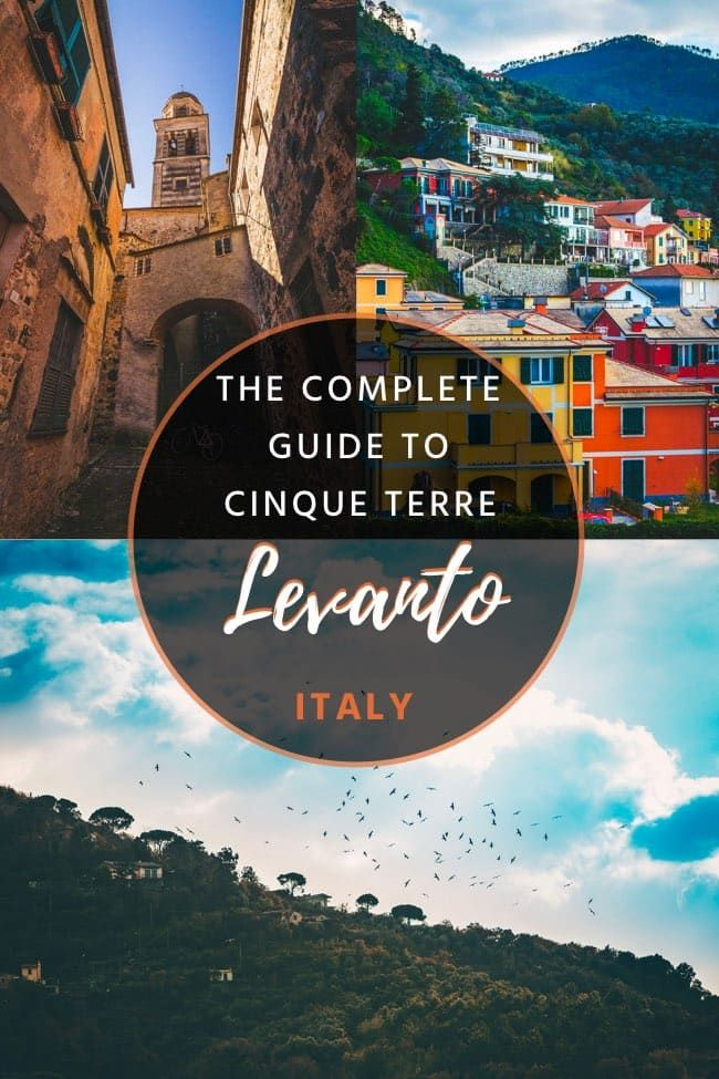 Levanto, Cinque Terre – The Perfect Starting Point to the Cinque Terre!