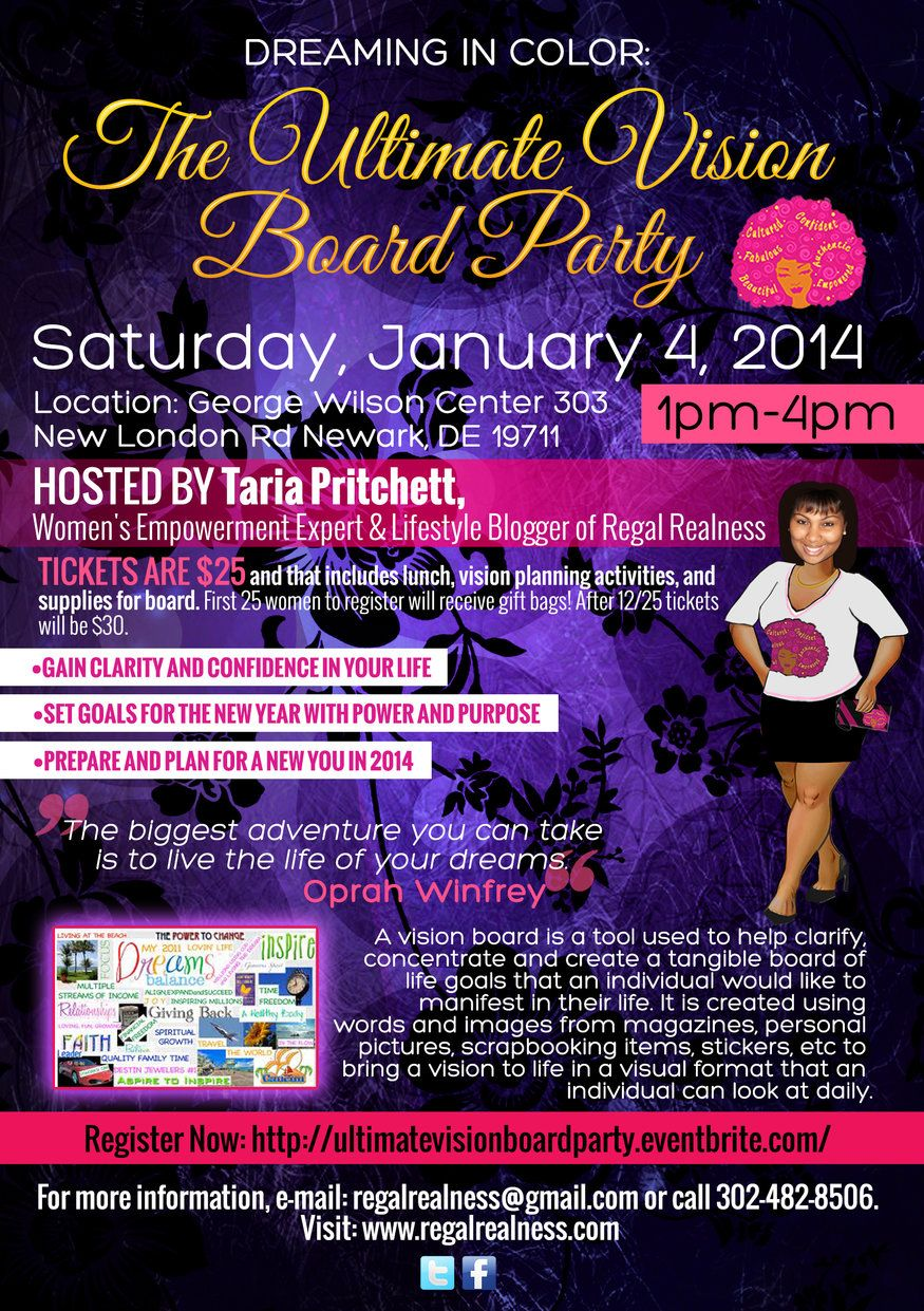 Vision Board Party How To Plan Empowerment