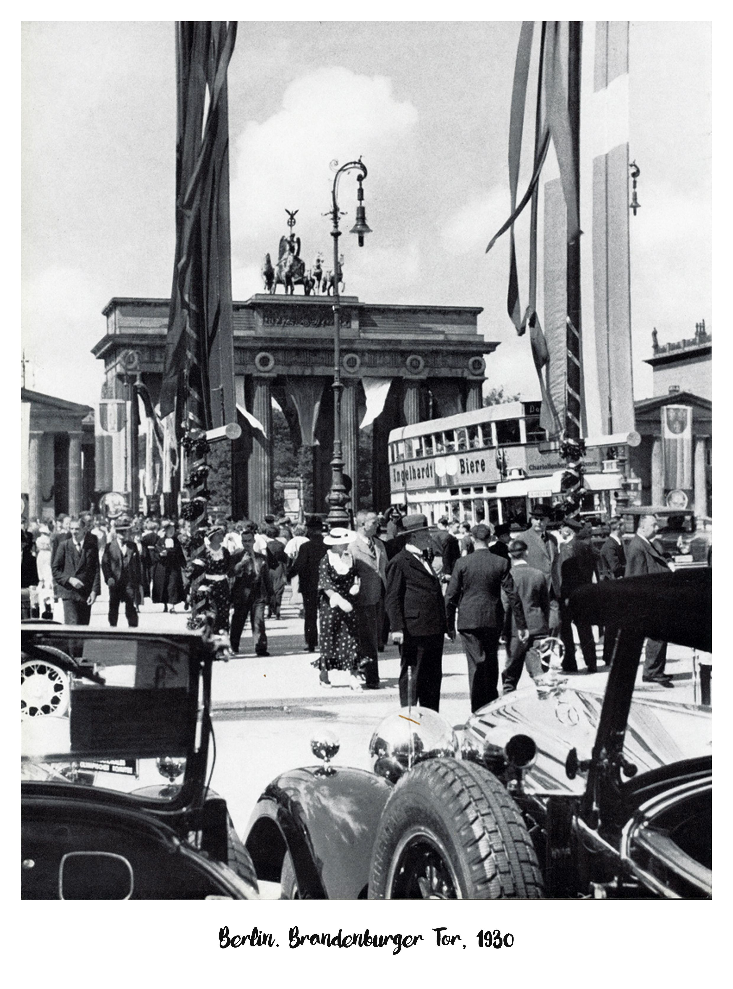 Berlin Brandenburger Tor 1930 Brandenburger Tor Berlin Geschichte Brandenburger Tor Berlin