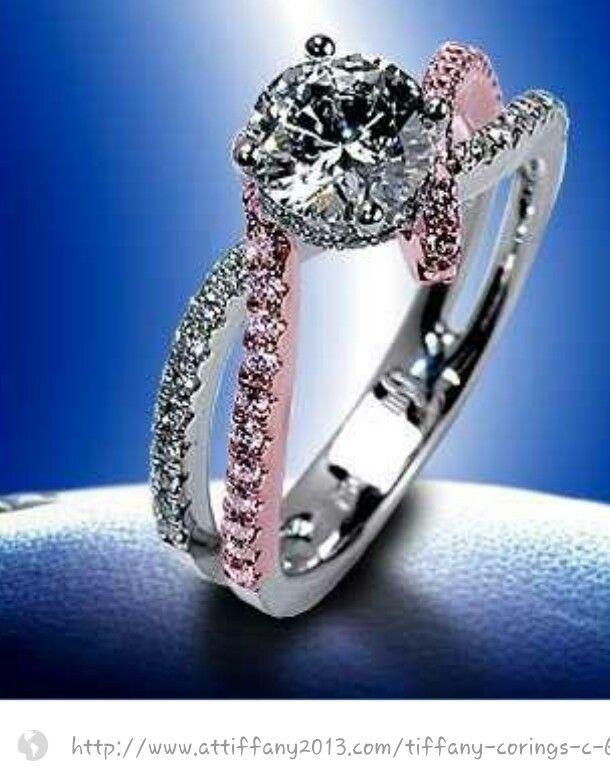 Tiffany Ringnot So Pink But Beautiful Biżuteria Pinterest