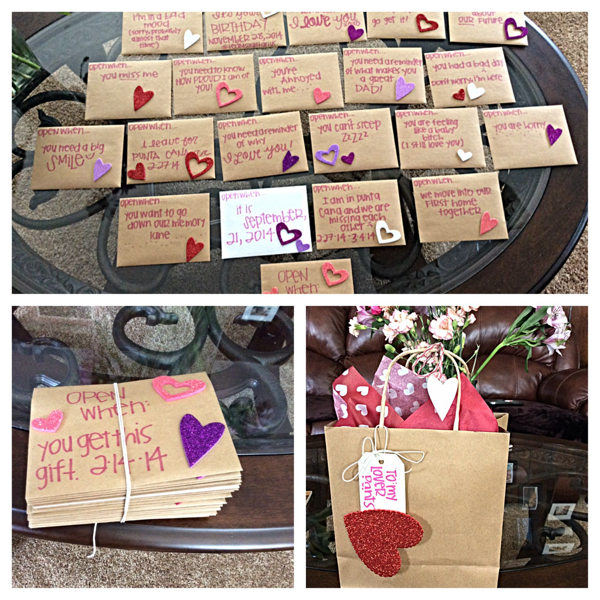 Valentines for him Open when love letters | See more about Love ...
