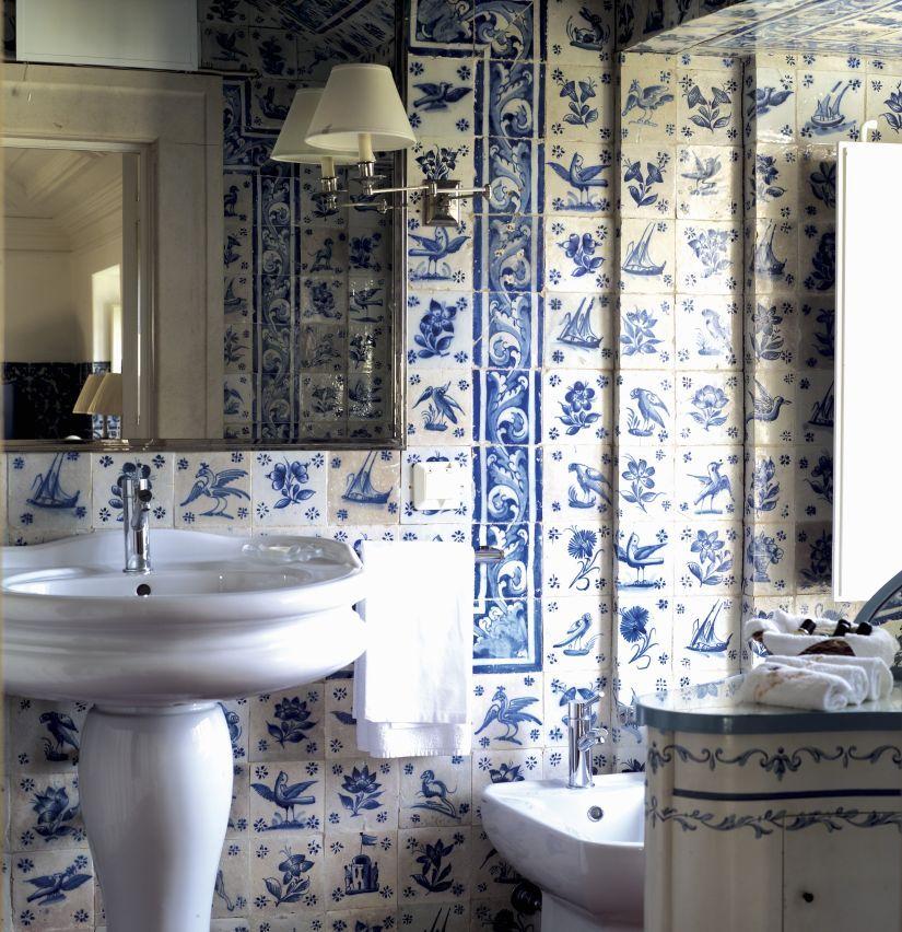 Keuken blauw modern - Aardewerk rode keuken ...