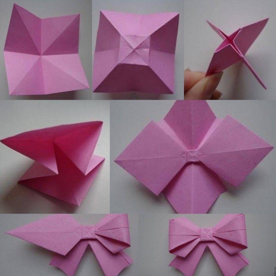 Origami Schmetterling Einfach