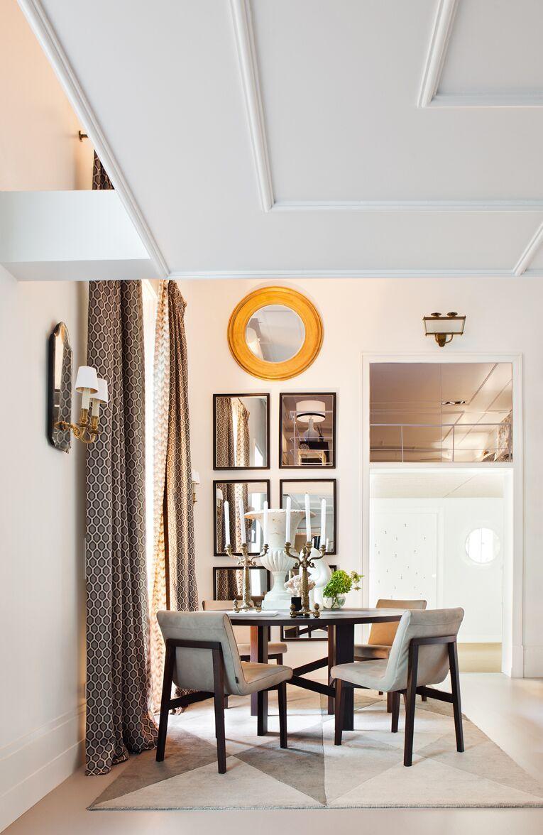 Sala comedor frente a los colores neutros de la casa - Sillas comedor colores ...