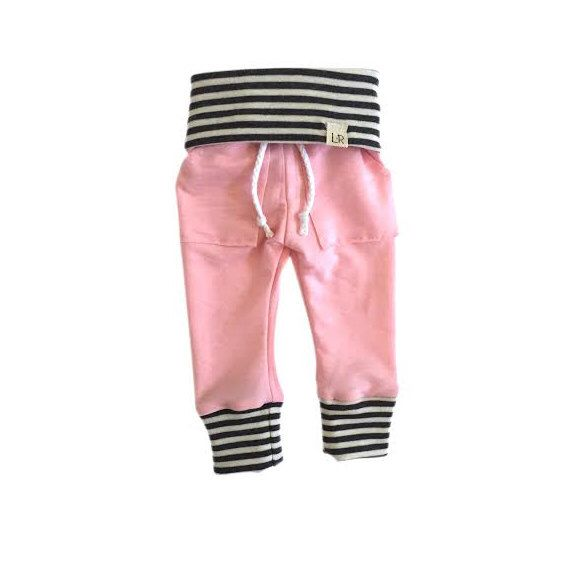 Soft pink sweatpants. Going home outfit