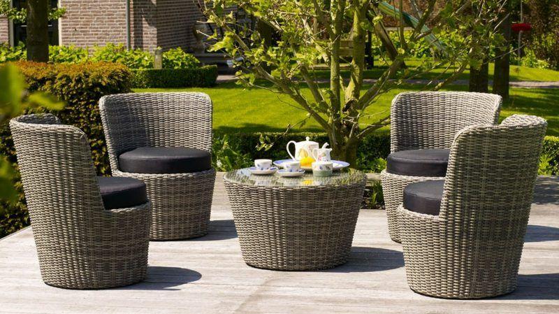 Attraktive Loungemobel Outdoor Loungefurniture Rattan