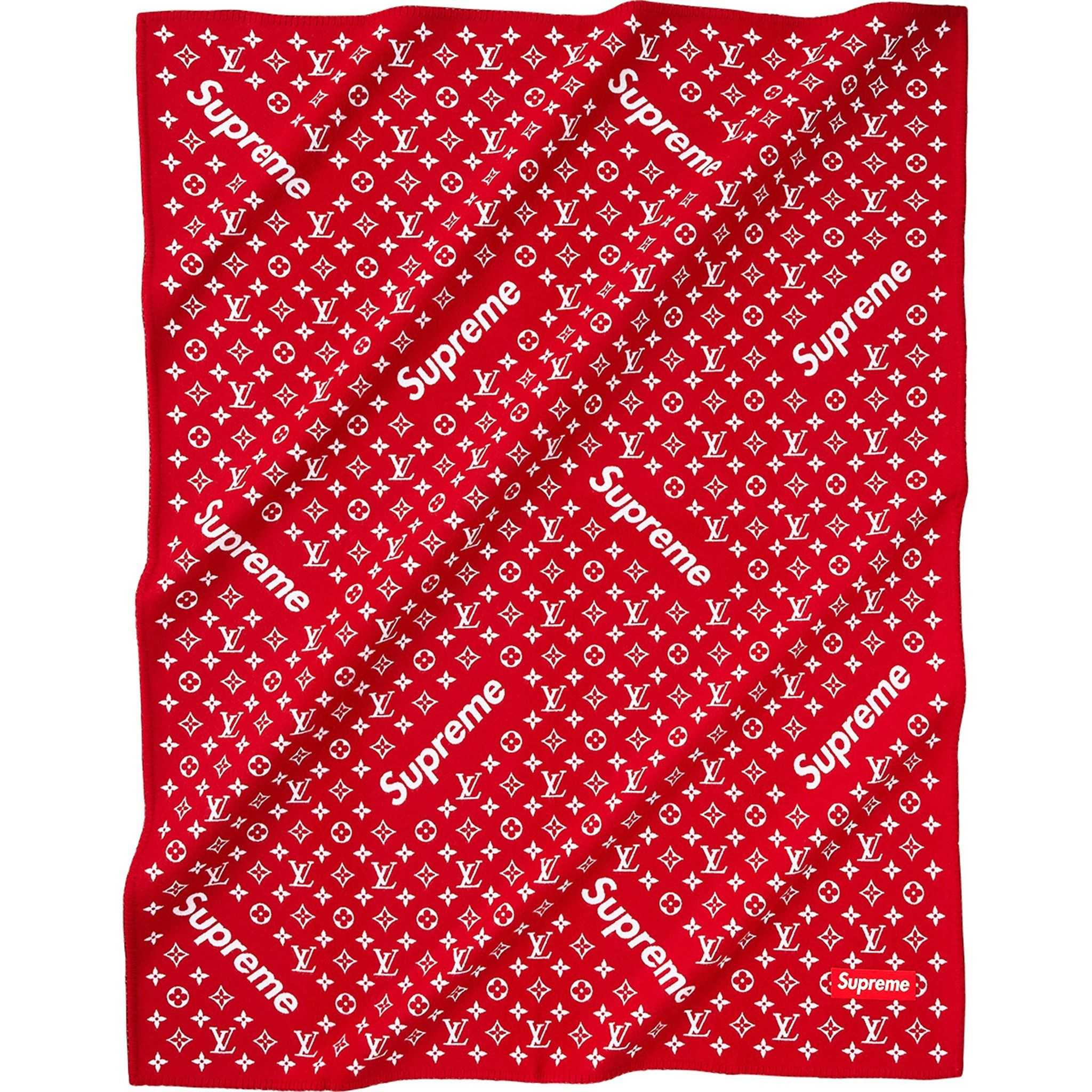 Image result for louis vuitton supreme bandana Linen
