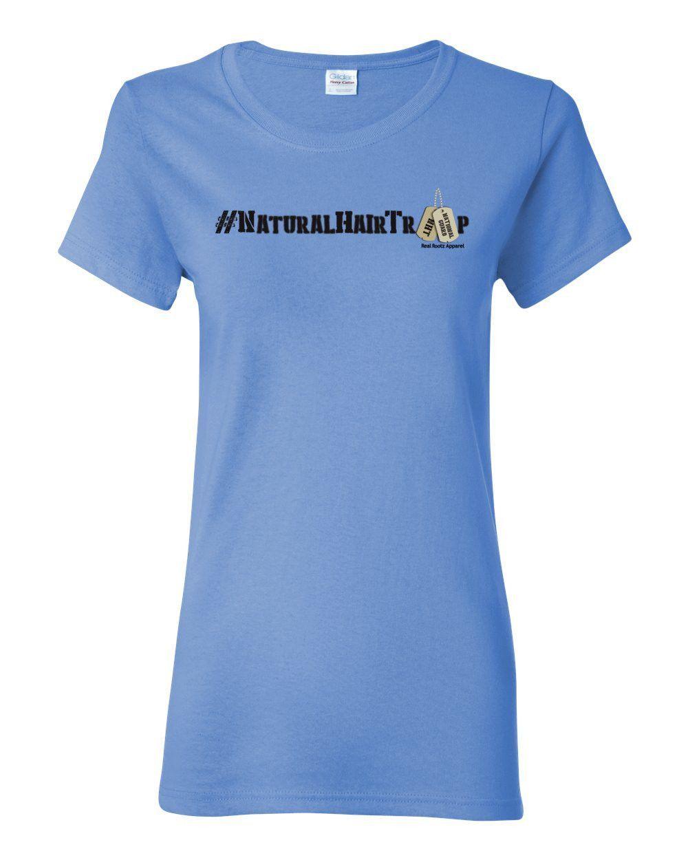 "Women's ""National Guard"" Natural Hair Troop Short Sleeve T-Shirt"