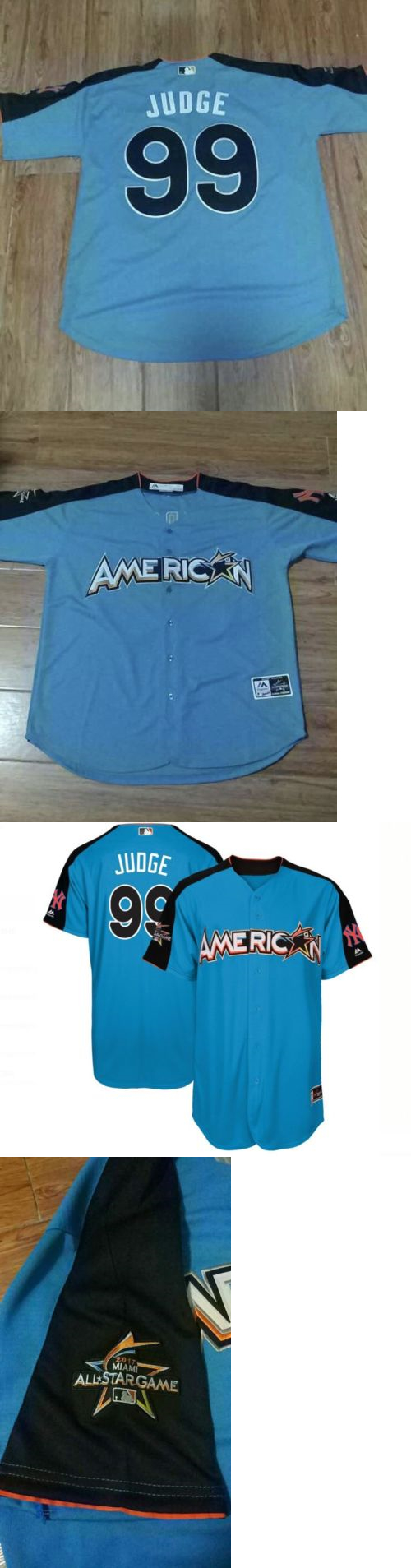 67426c944 ... Mens Sports Memorabilia Aaron Judge 99 American League 2017 Mlb All-Star  Game Jersey ... 2017 all star game new york yankees ...