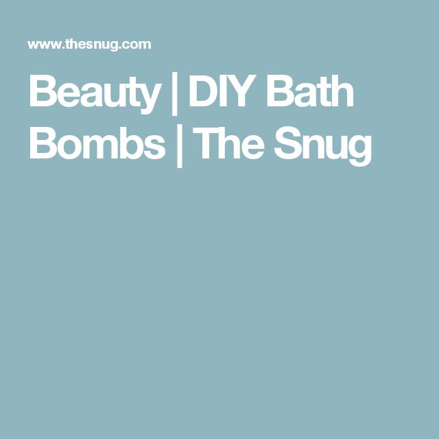 Beauty | DIY Bath Bombs | The Snug