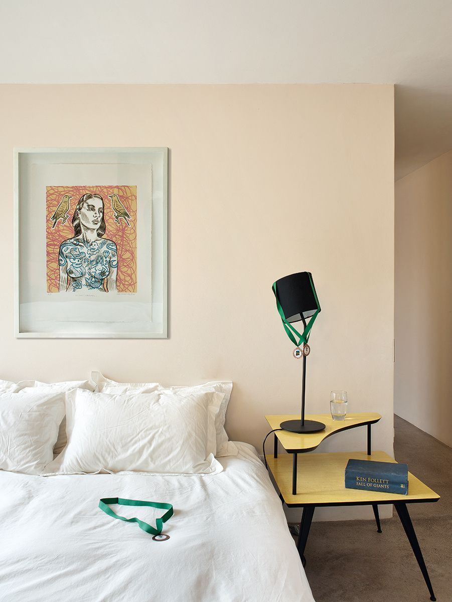 Dormitorio de una de las casas diseñadas por el arquitecto Antonio Zaninovic en Sudáfrica. AD España, © Montse Garriga