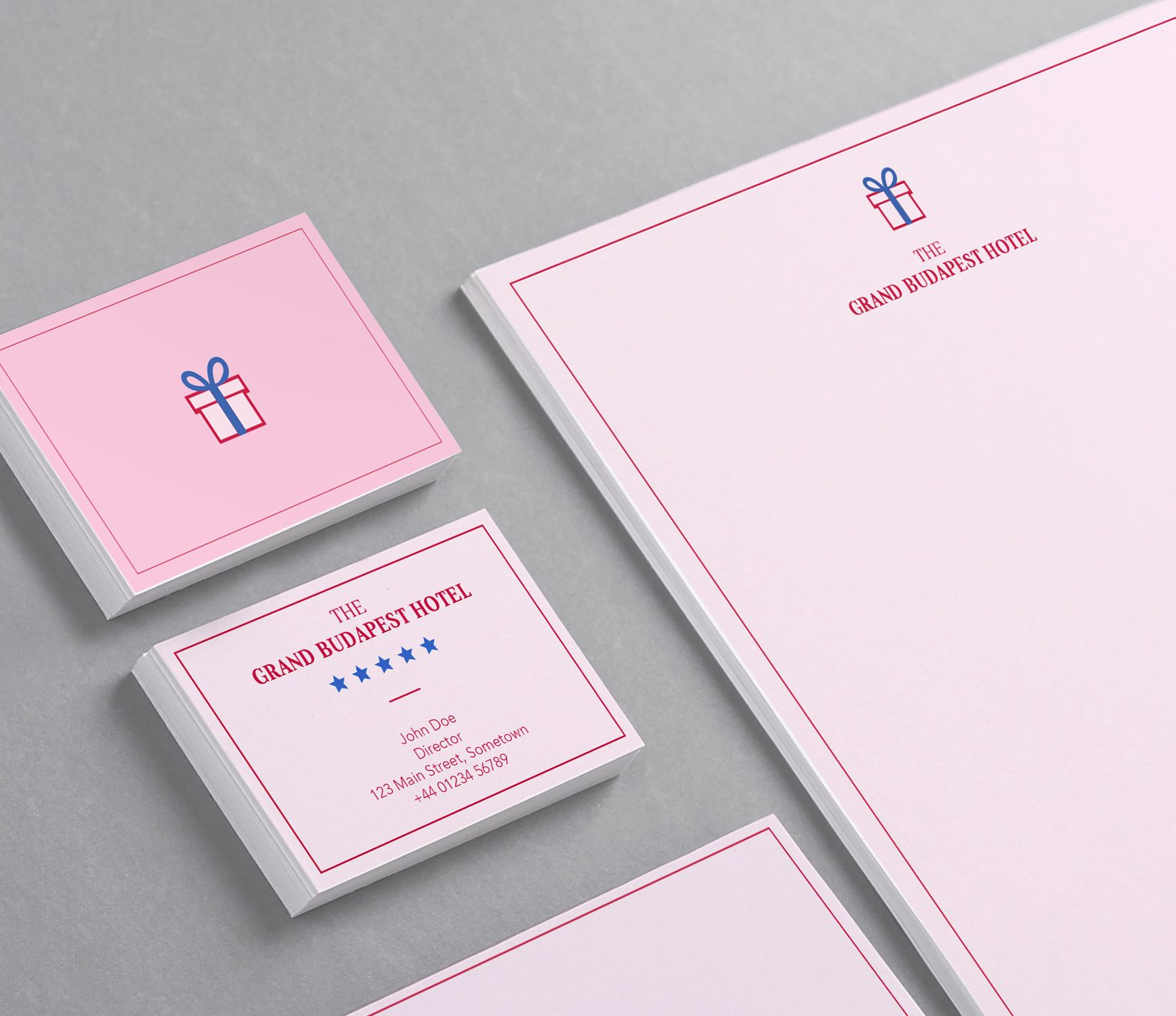 Inspired Design: Stationery Inspired by The Grand Budapest Hotel ...