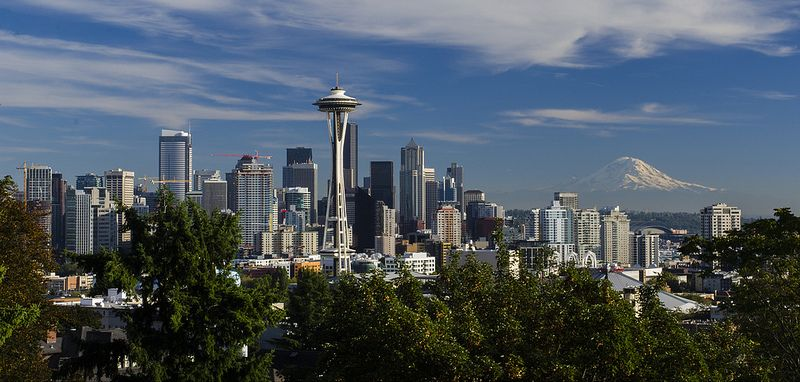 Seattle Skyline With Images Seattle Skyline Skyline Visit