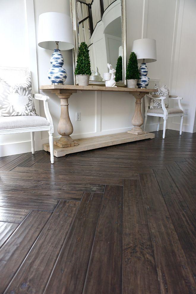 Dark Wood Herringbone Flooring Dark Wood Herringbone Flooring