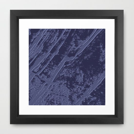 marble effect Framed Art Print