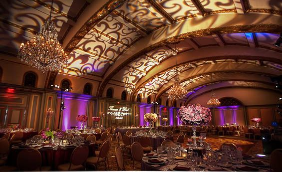 Elegant Wedding Reception At The Langham Huntington In Pasadena CA