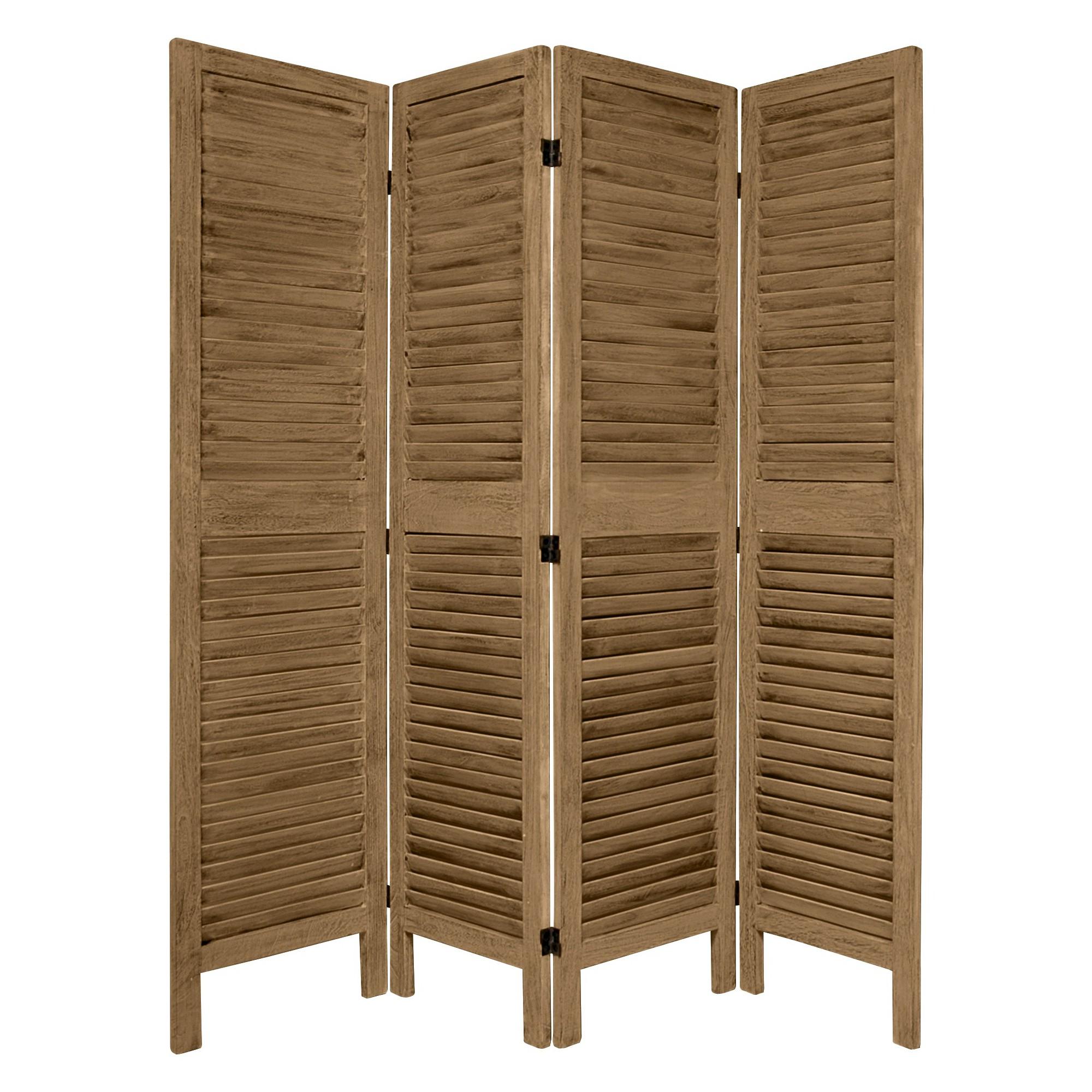 5 1 2 Ft Tall Classic Venetian Room Divider 3 Panel Wood Room Divider Temporary Room Dividers Folding Room Dividers